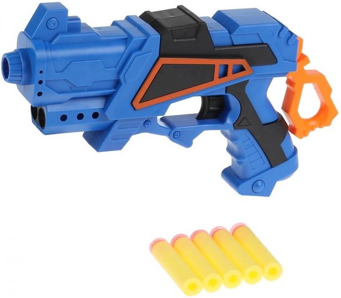 Картинка для Игрушечное оружие Играем вместе Бластер с мягкими пулями 31х25х6 см