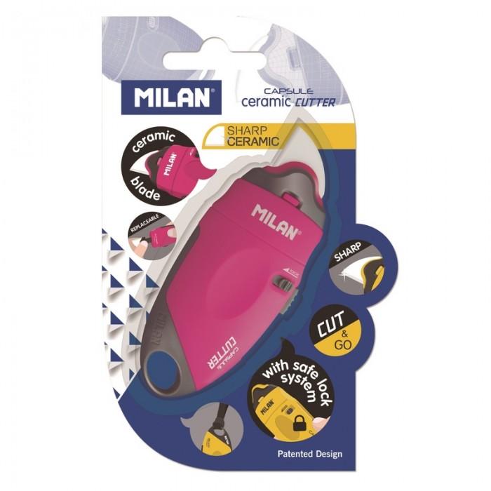 Milan Нож канцелярский Capsule с керамическим лезвием BWM10337