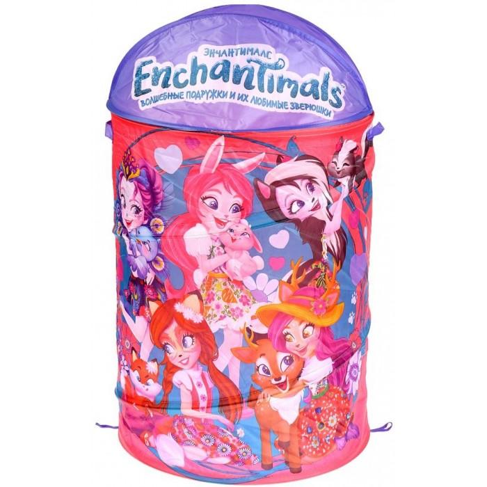 Купить Ящики для игрушек, Играем вместе Корзина для игрушек Enchantimals 43х60 см