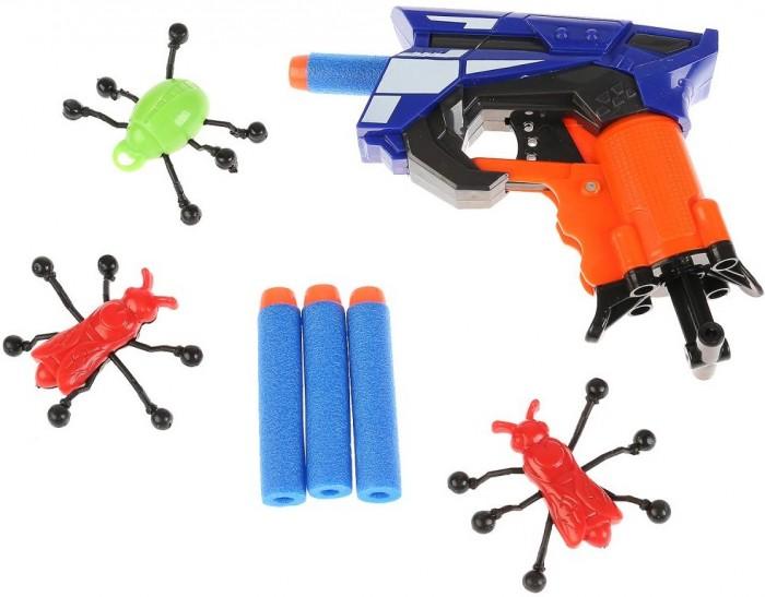 Картинка для Игрушечное оружие Играем вместе Бластер-тир с мягкими пулями