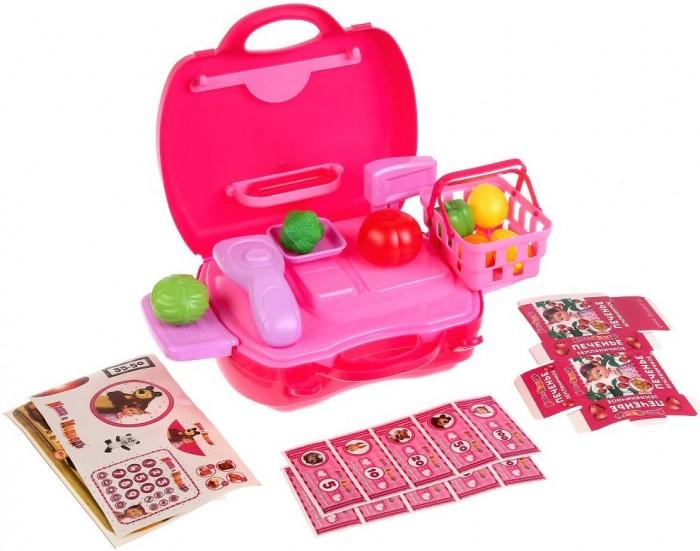 Купить Ролевые игры, Играем вместе Касса Маша и Медведь с набором продуктов (23 предмета)