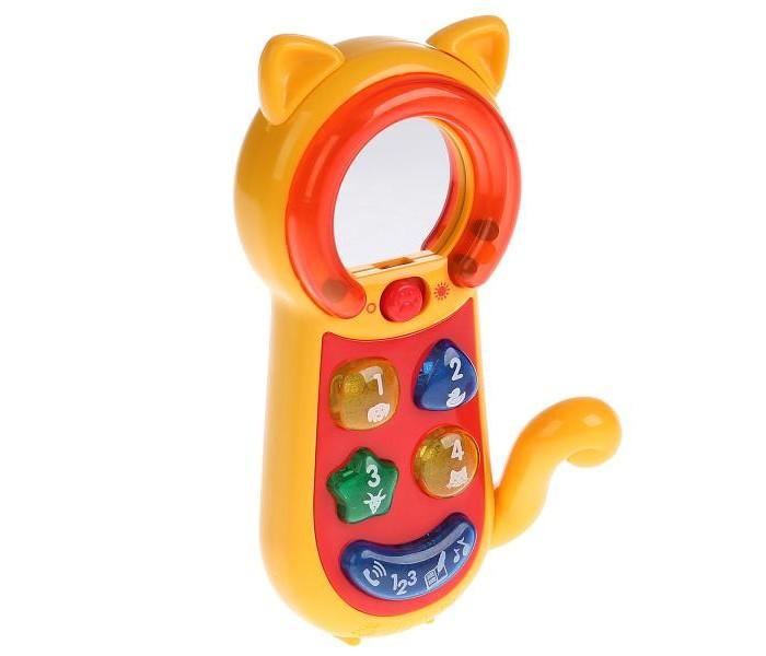 Картинка для Электронные игрушки Умка Телефон-трещотка