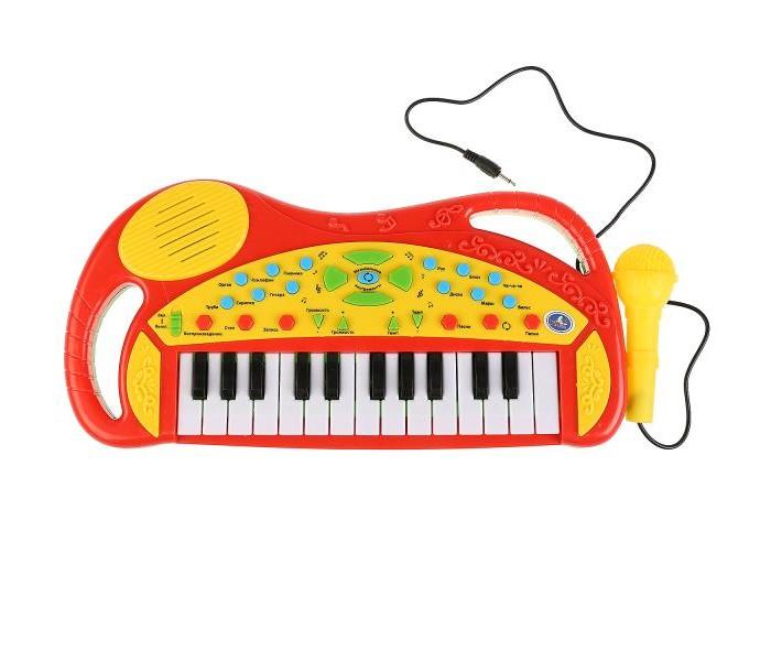 Музыкальные инструменты Умка Пианино с микрофоном и функцией записи