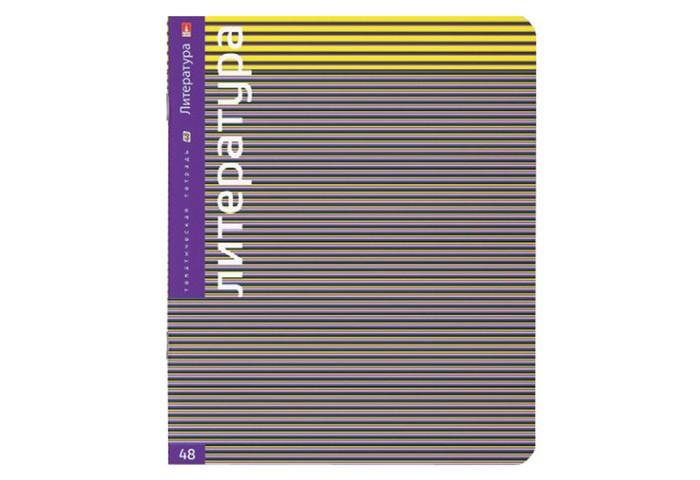 Тетради Альт Тетрадь предметная Классика Литература А5 48 листов