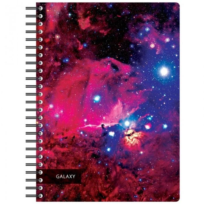 Тетради Attache Бизнес-тетрадь Space Galaxy А5 120 листов
