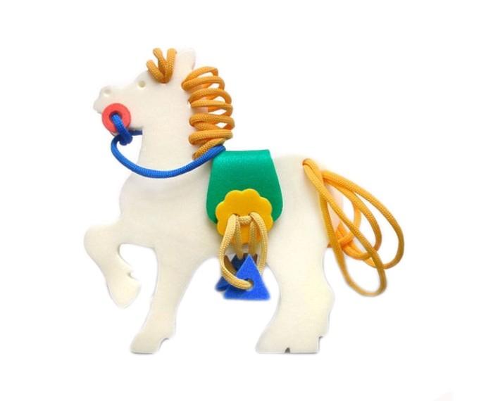 Развивающие игрушки Флексика Шнуровка Лошадка развивающие игры