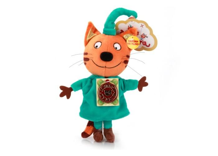 Купить Мягкие игрушки, Мягкая игрушка Мульти-пульти Три кота Компот 16 см