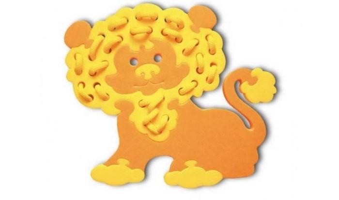 Развивающие игрушки Флексика Шнуровка Львенок развивающие игры