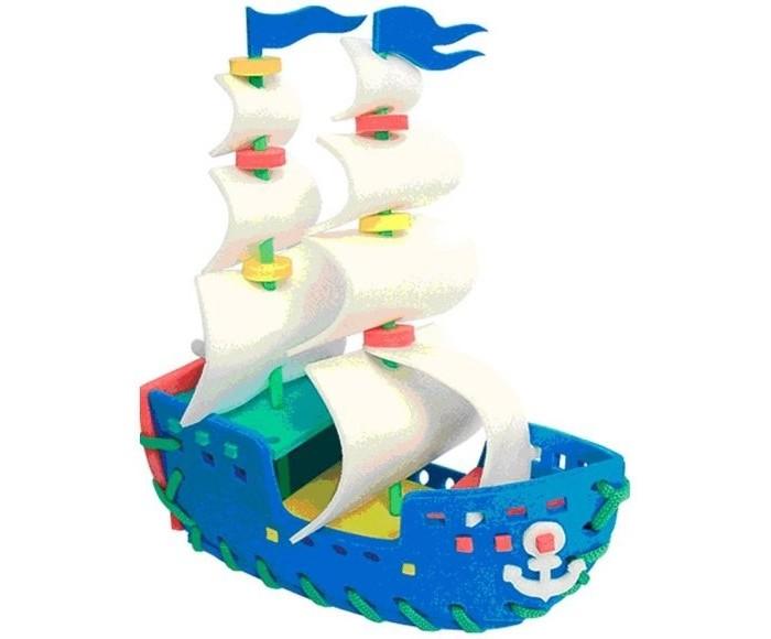 Развивающие игрушки Флексика Шнуровка Парусник развивающие игры