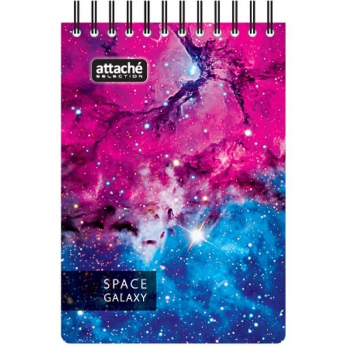 Канцелярия Attache Selection Блокнот Space Galaxy А7 120 листов