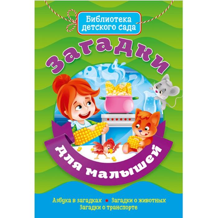 Художественные книги Проф-Пресс Библиотека детского сада Загадки для малышей проф пресс сборник библиотека детского сада айболит