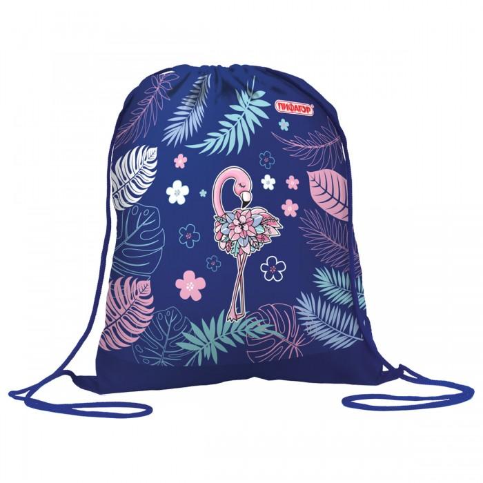 Мешки для обуви Пифагор Сумка для обуви Flamingo сумка рюкзак для обуви космос 43 х 38 см joy цвет синий