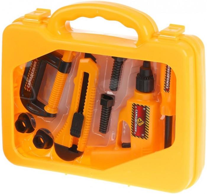 Картинка для Ролевые игры Играем вместе Набор инструментов Самоделкин в чемодане
