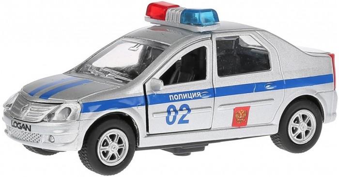 Машины Технопарк Машина инерционная со светом и звуком Renault Logan Полиция машины технопарк инерционная машина спорткар со светом и звуком