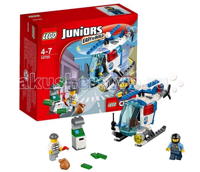 Lego Lego Juniors 10720 Лего Джуниорс Погоня на полицейском вертолёте lego juniors 10739 лего джуниорс ниндзяго нападение акулы