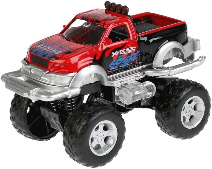 Машины Технопарк Машина инерционная со светом и звуком 11 см машины технопарк инерционная машина спорткар со светом и звуком