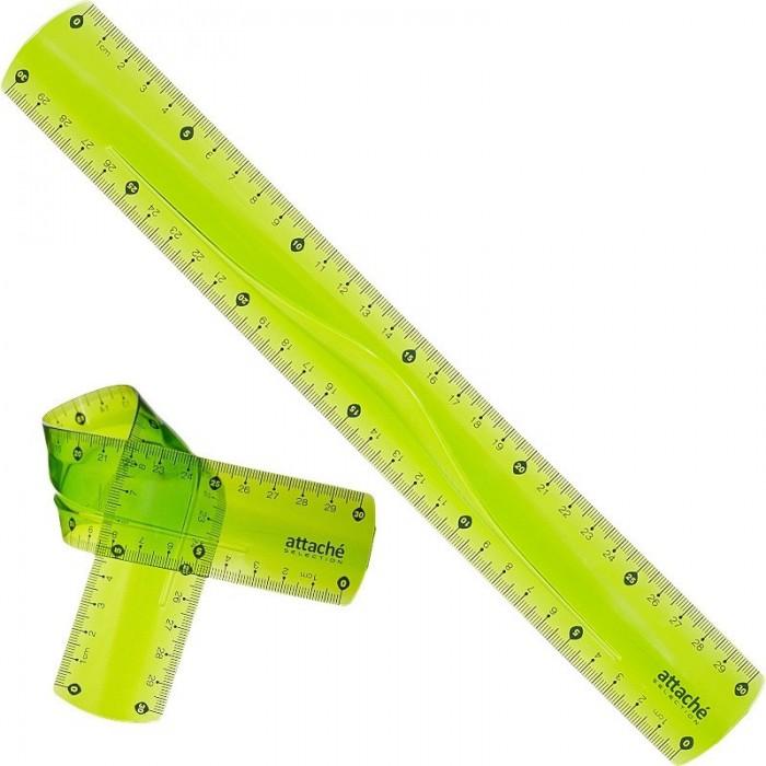 Канцелярия Attache Selection Линейка Flexible 30 см