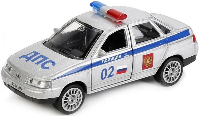 Машины Технопарк Lada 110 Полиция инерционный 12 см машины технопарк машина lada granta полиция