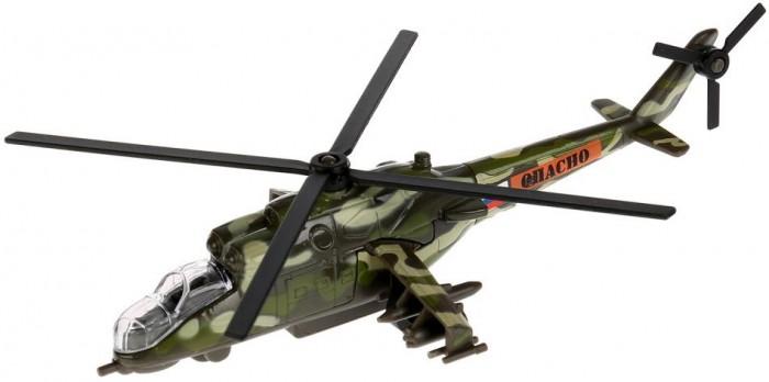 Машины Технопарк Вертолет МИ-24 инерционный 15 см