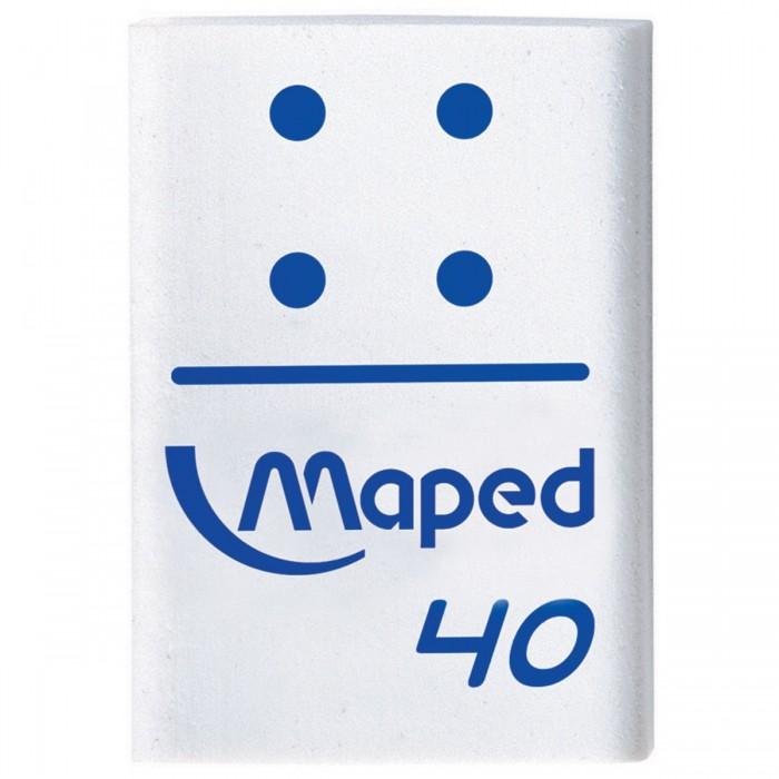 Канцелярия Maped Ластик средний Domino