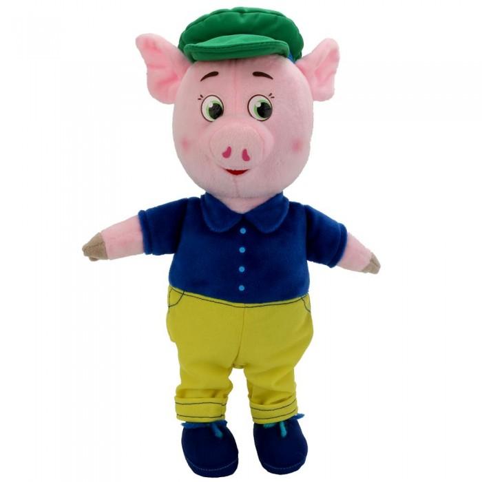 Купить Мягкие игрушки, Мягкая игрушка Мульти-пульти Поросенок в костюме и кепке 26 см