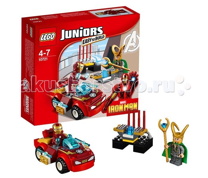 Lego Lego Juniors 10721 Лего Джуниорс Железный человек против Локи