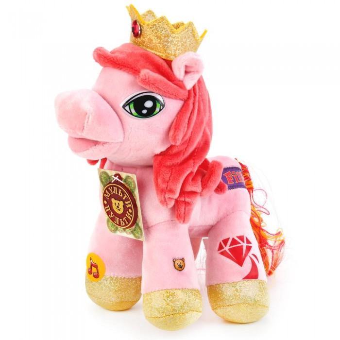 Купить Мягкие игрушки, Мягкая игрушка Мульти-пульти Пони Кристалл 23 см