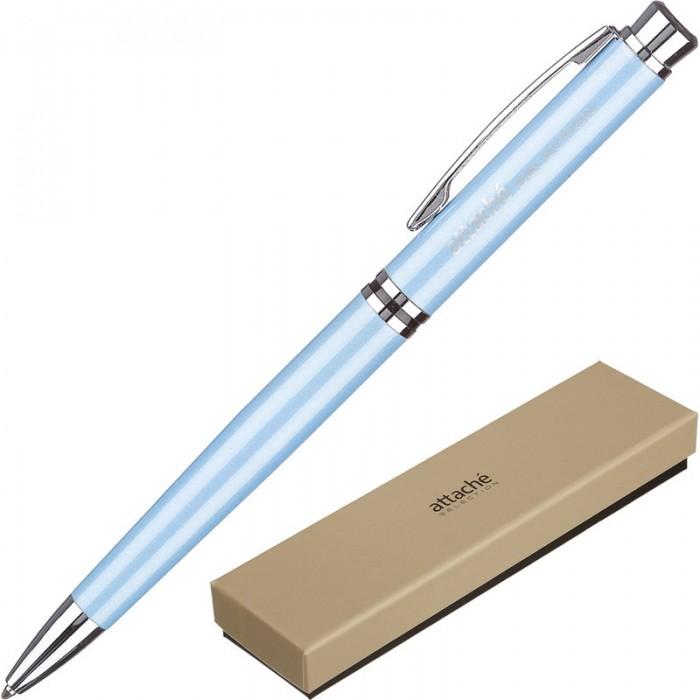 Канцелярия Attache Selection Ручка шариковая Topaz канцелярия lejoys ручка шариковая с колпачком в корпусе из бамбука черная 13 5 см