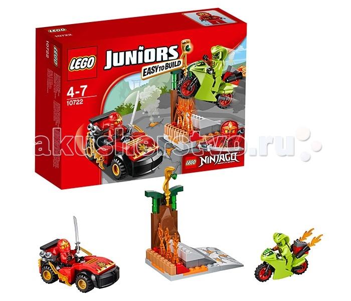 Lego Lego Juniors 10722 Лего Джуниорс Схватка со змеями lego juniors 10739 лего джуниорс ниндзяго нападение акулы
