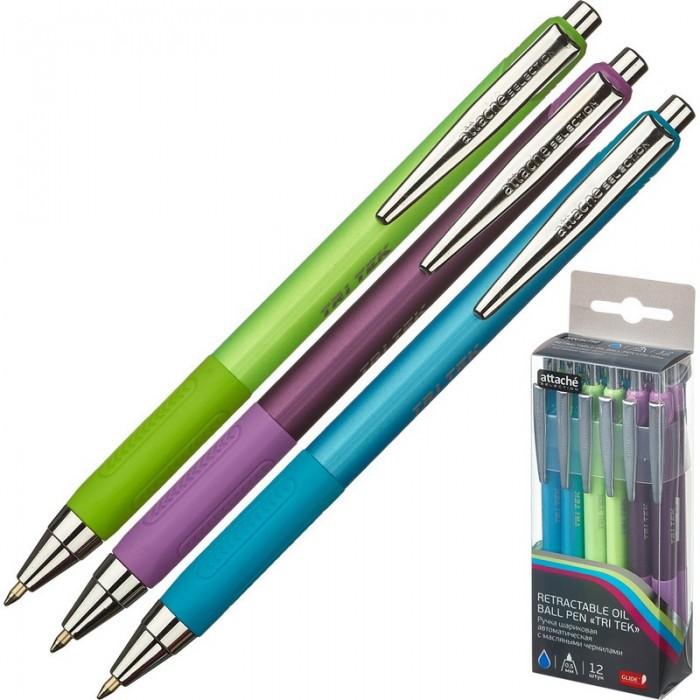 Канцелярия Attache Selection Ручка шариковая Glide Tri Tec 0,7мм 722452