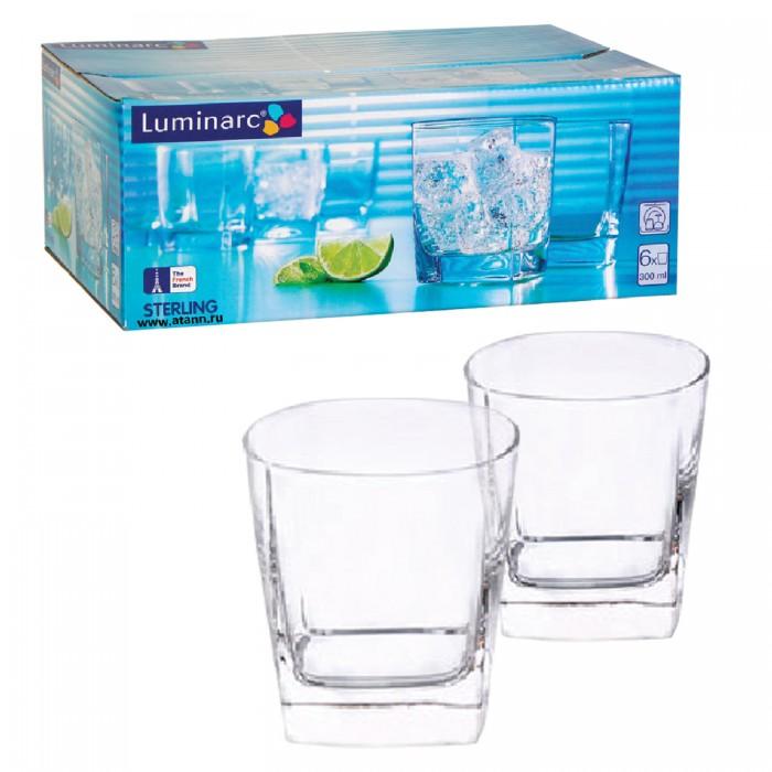 Посуда и инвентарь Luminarc Набор стаканов для сока низкие 6 шт. 300 мл набор стаканов для воды 6 шт crystalite bohemia набор стаканов для воды 6 шт