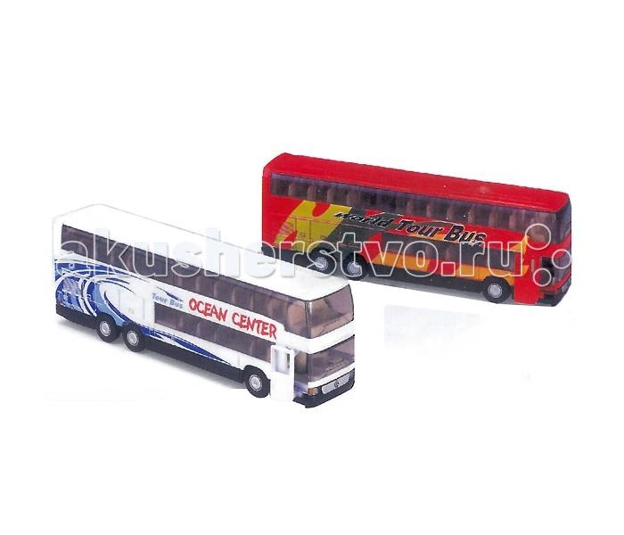 Машины Welly Модель автобуса Mercedes-Benz welly 72131 велли модель грузовика 1 87 mercedes benz actros