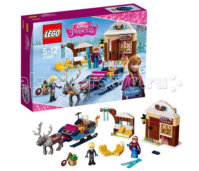 Lego Lego Disney Princesses 41066 Лего Принцессы Дисней Анна и Кристоф: прогулка на санях конструктор lego disney princesses анна и кристоф прогулка на санях 174 элемента 41066