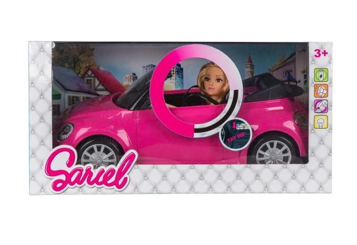 Фото - Куклы и одежда для кукол Sariel Кукла с машиной со световыми и звуковыми эффектами JB700381 погремушки tongde музыкальная цыпленок со световыми и звуковыми эффектами