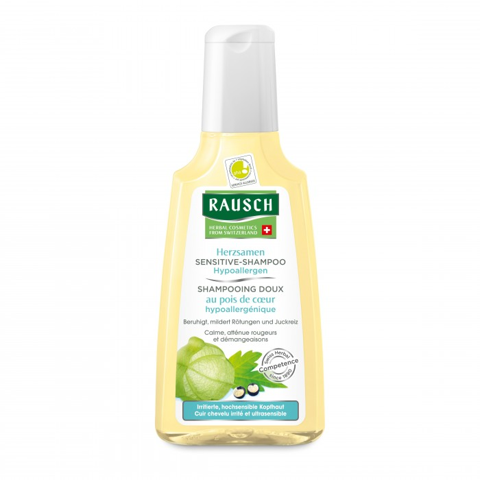 Косметика для мамы Rausch Шампунь для чувствительной кожи головы 200 мл шампунь для чувствительной кожи
