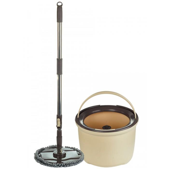 Хозяйственные товары Boomjoy Набор для уборки Spin Mop M7 с отжимом и ведром
