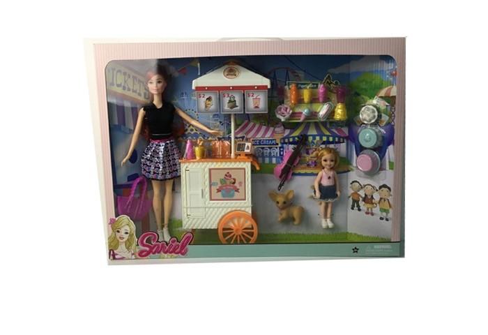 Куклы и одежда для кукол Sariel Набор кукол с аксессуарами куклы и одежда для кукол daisy набор кукла цветочек 9 см с аксессуарами и мопедом