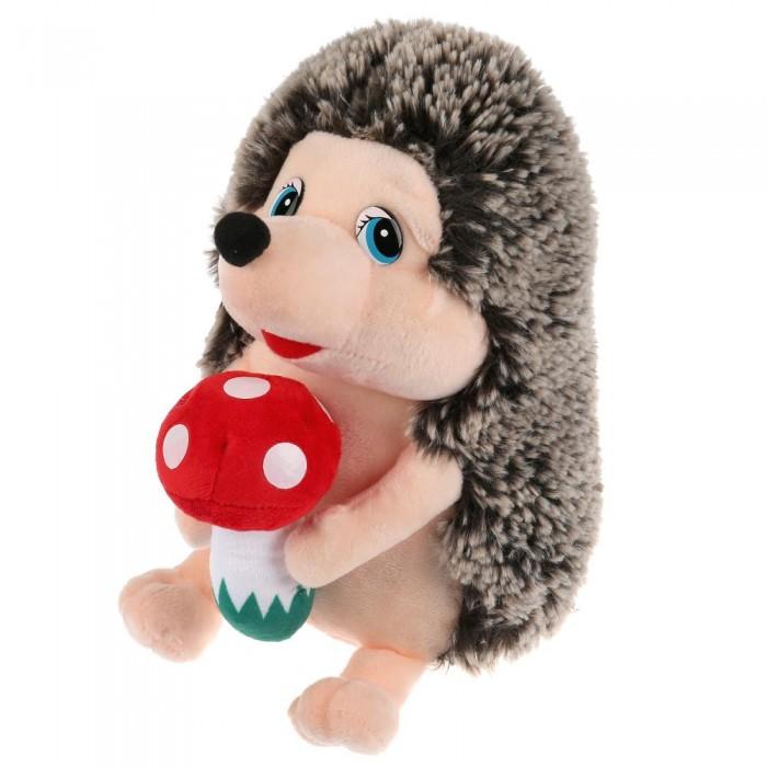 Купить Мягкие игрушки, Мягкая игрушка Мульти-пульти Ёжик с грибочком 22 см
