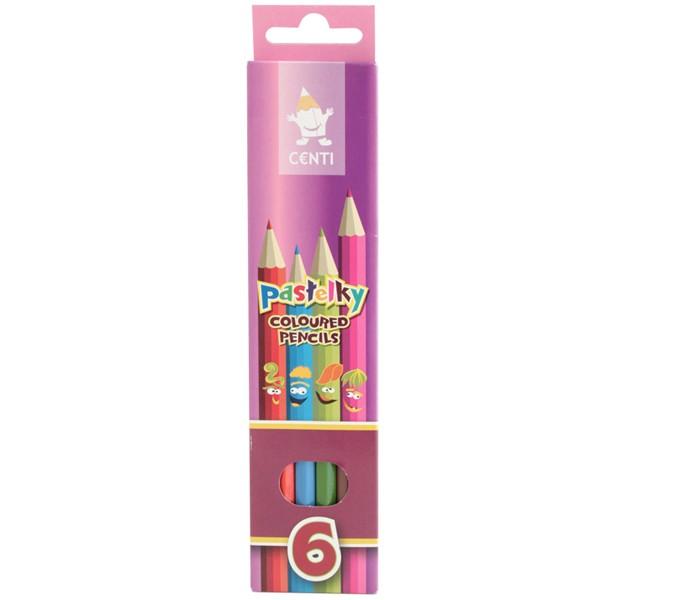 Карандаши, восковые мелки, пастель Koh-i-Noor Набор карандашей цветных 6 цветов набор цветных карандашей феникс лошадь 32869 деревянные 6 шт