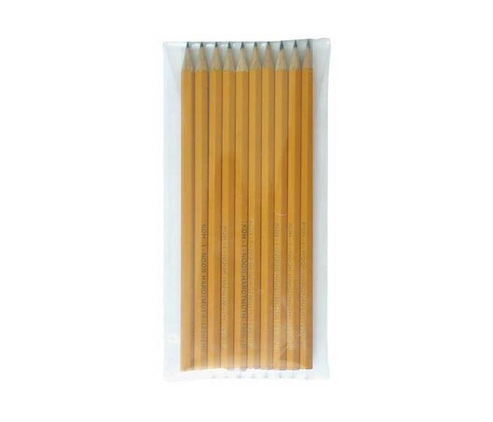 Фото - Карандаши, восковые мелки, пастель Koh-i-Noor Набор карандашей чернографитных 10 шт. карандаши восковые мелки пастель lego набор карандашей с насадками в форме кирпичика batman movie 2 шт