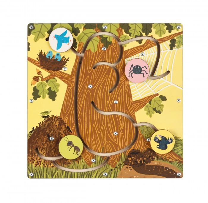 Купить Деревянные игрушки, Деревянная игрушка Forest Лабиринт Кто где живет?