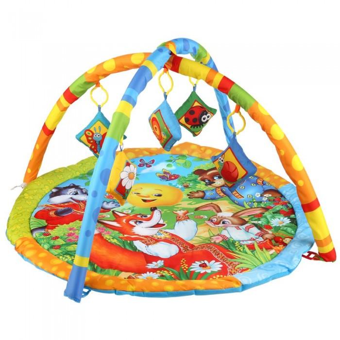 Картинка для Развивающие коврики Умка Колобок игровой с мягкими игрушками