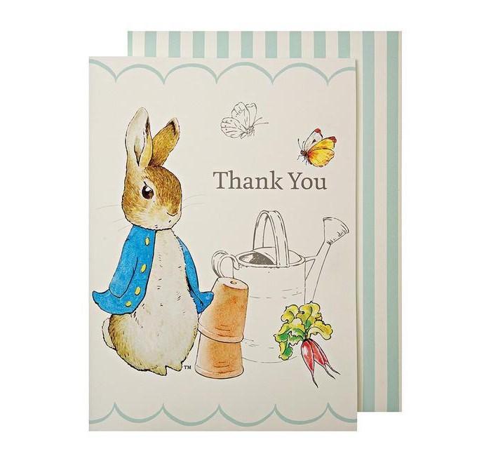 Товары для праздника MeriMeri Набор открыток с благодарностью Кролик Питер good hand набор хитрый кролик
