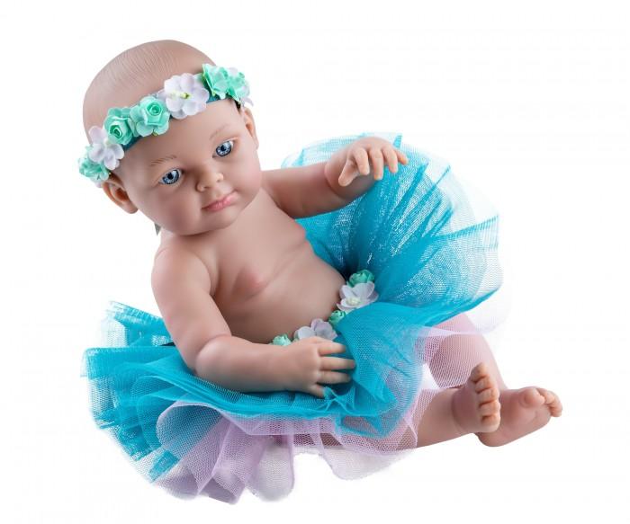Куклы и одежда для кукол Paola Reina Кукла Бэби балерина 32 см куклы и одежда для кукол paola reina кукла луис причастие 32 см