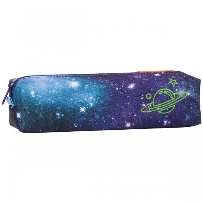 Пеналы Tiger Enterprise Пенал-тубус на молнии Nature Quest Super Galaxy 1 отделение