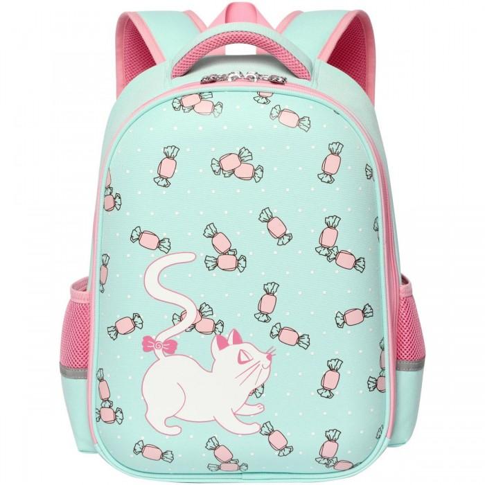 Школьные рюкзаки Action Ранец ученический Kitty рельефная спинка