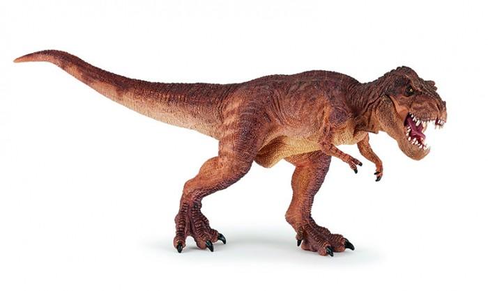 Игровые фигурки Papo Коричневый бегущий тиранозавр Рекс