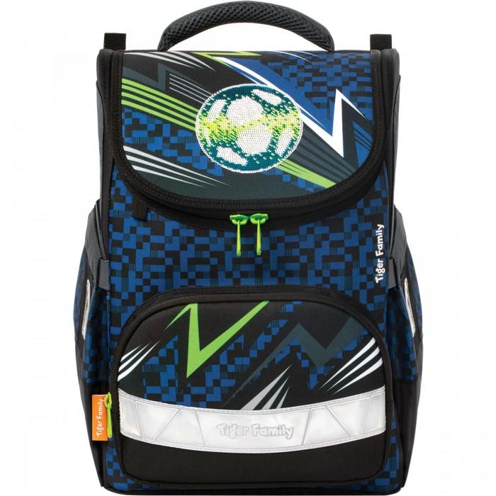 Школьные рюкзаки Tiger Enterprise Ранец школьный Earnest Striking Football анатомическая спинка