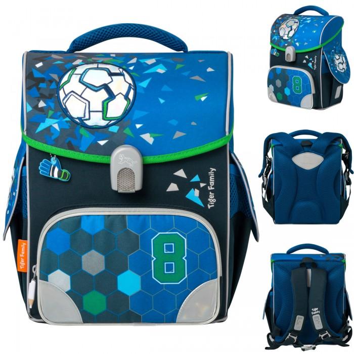 Школьные рюкзаки Tiger Enterprise Ранец школьный Jolly Power Force анатомическая спинка