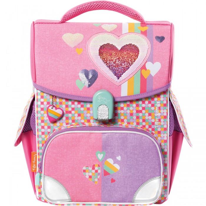 Школьные рюкзаки Tiger Enterprise Ранец школьный Jolly Sweet Love анатомическая спинка замок Fidlock